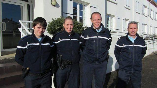 Communauté de brigades : quatre nouveaux gendarmes - Les Sables d ...