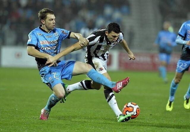Mathieu Duhamel et les Caennais vont devoir trouver des solutions pour espérer jouer en Ligue 1 l'année prochaine.