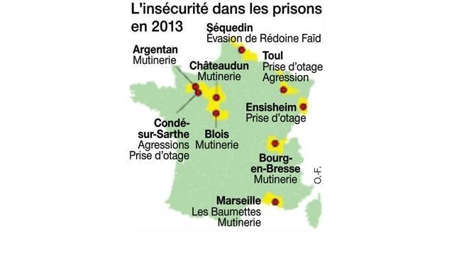 photo la sécurité des prisons françaises fait débat