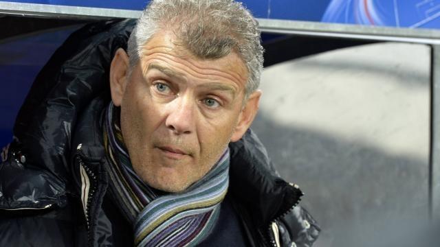 Patrice Garande, l'entraîneur caennais.