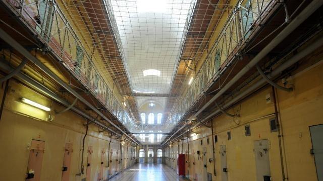 photo les conditions de détention à l maison d'arrêt  d'angers sont de plus en plus décriées. © philippe renault
