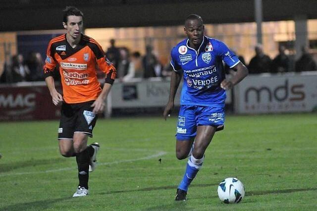 Hervé Bazile, futur attaquant du SMC
