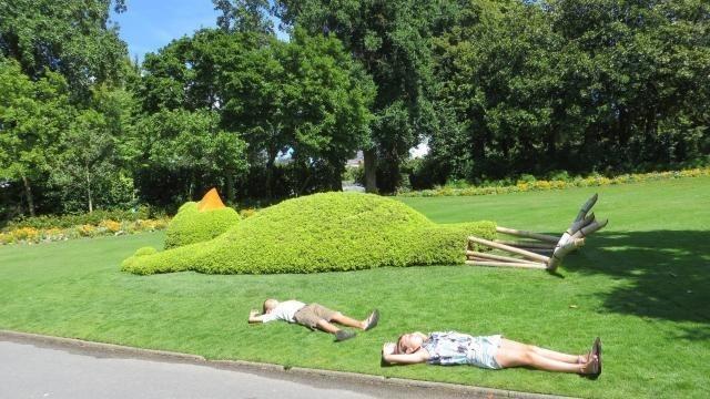 Le Voyage à Nantes : Le poussin de Ponti s\'ennuie aux Maldives ...