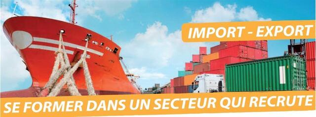 formation pole emploi import export