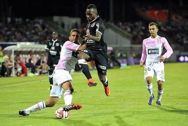 Passeur décisif et pas loin d'inscrire le quatrième but caennais samedi soir, Lenny Nangis a réalisé un match plein.