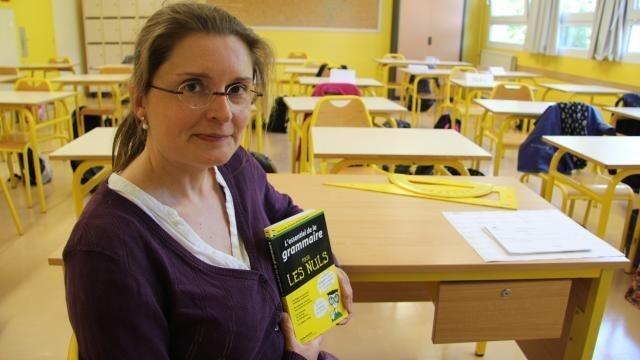 photo gaëlle bodelet propose une « trousse de secours d'urgence » pour la grammaire. © pierre fontanier