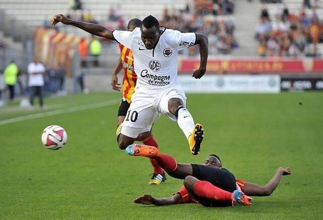 Lenny Nangis et les Caennais rapportent un bon point d'Amiens, dans un duel de promus, face à Lens.