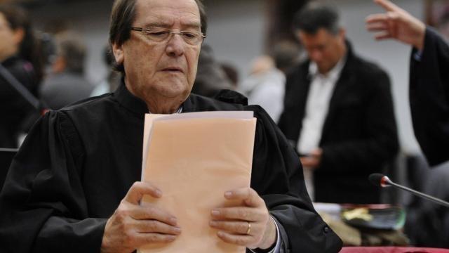 photo me christian charriere-bournazel avocat de la famille babin. © franck dubray