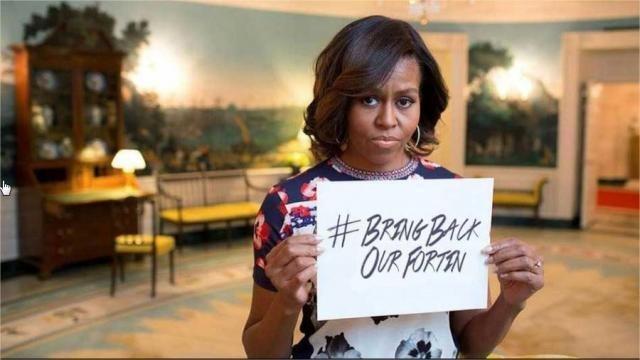 Michelle Obama vote pour la libération du président Fortin