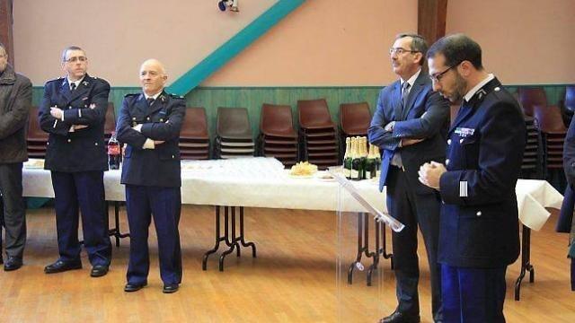photo « la gendarmerie est partout sur le territoire, aux côtés de chacun »,  a souligné le commandant tourtin.