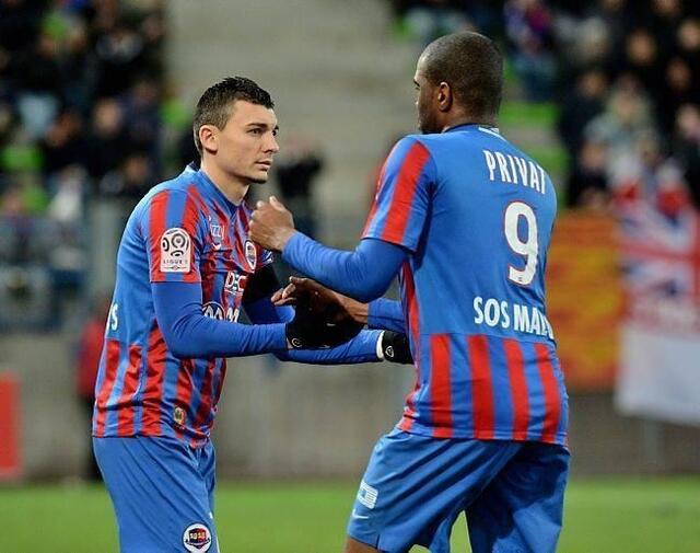 Sloan Privat avait été préféré à Mathieu Duhamel contre Reims
