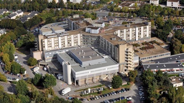 photo l'hôpital sud a ouvert une unité supplémentaire de 12 lits, pour faire face à l'afflux de patients aux urgences dans un contexte d épidémie de grippe. © marc ollivier