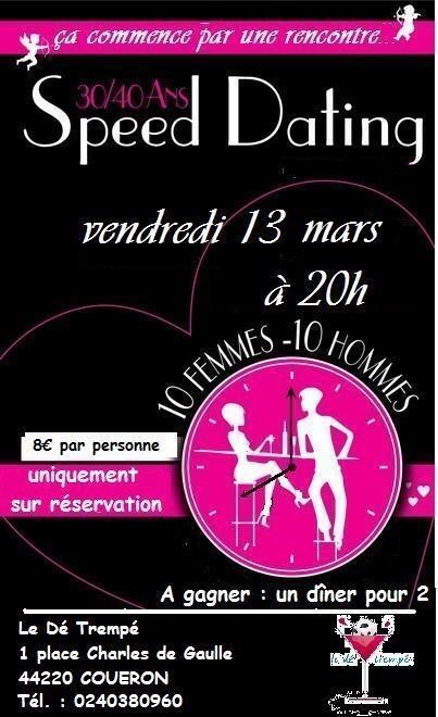 affiche speed dating