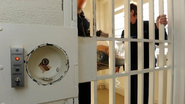 photo depuis le prison, le prévenu avait menacé par téléphone le jeune homme qui devait témoigner contre lui. © thierry creux