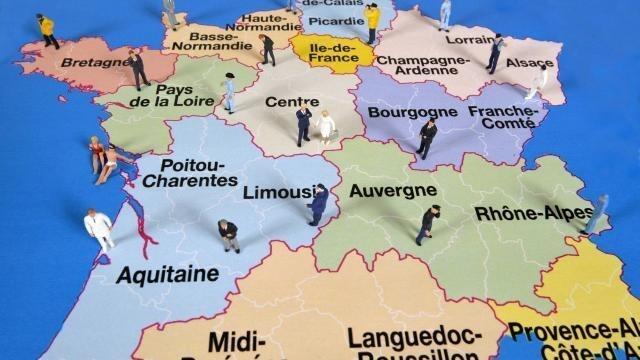 Fusion Des Regions Les Capitales Des Nouvelles Regions Le Mans Maville Com