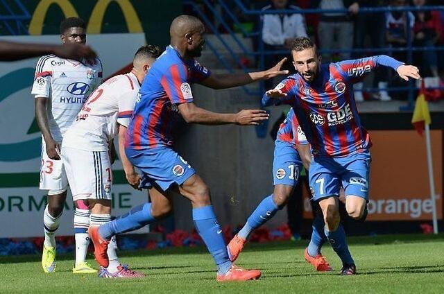 Auteur d'une grosse prestation et d'un doublé face à Lyon samedi dernier, Nicolas Benezet est devenu l'homme fort de cette fin de saison pour Malherbe. Il a inscrit trois des quatre derniers buts caennais.