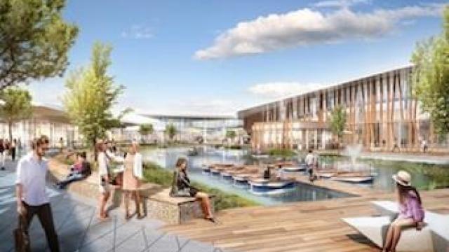 Inter Ikea Un Hypermarché Auchan 70 Boutiques Et Un Lac