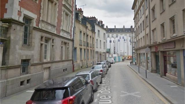 photo sandra, 50 ans, a été agressée rue des francs-bourgeois, à rennes, le 24 décembre. © image d'illustration : google street view.