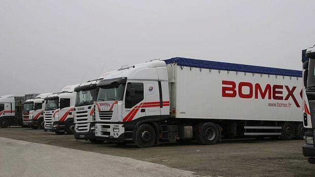 deux candidats à la reprise du transporteur bomex de saint-géréon