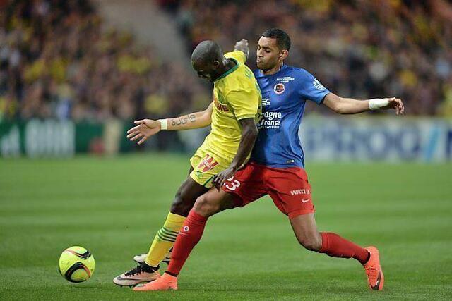 Auteur de l'ouverture du score contre Nantes, Ronny Rodelin a beaucoup défendu tout au long du match.