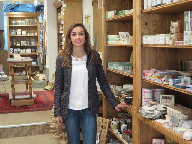 Chinez chez La Grange - Daphné Bautes, 28 ans, tient ce magasin de on