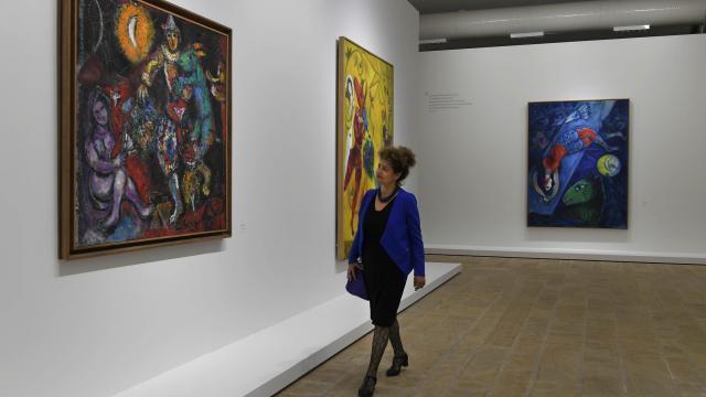 Chagall De La Poésie à La Peinture Exposé à Landerneau Quimper