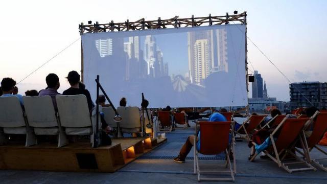Aux heures d\'été : le cinéma en plein air gratuit commence ...