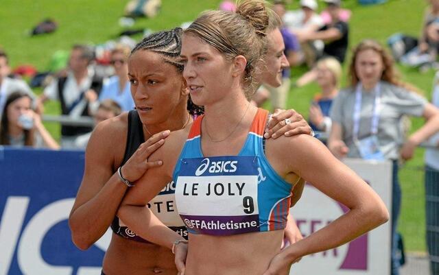 photo camille le joly, première athlète à avoir travaillé avec raphaël homat avant son titre de championne de france, en 2013. © archives ouest-france