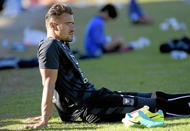 Damien Da Silva a été aligné au poste de sentinelle sur les deux derniers matches de préparation par Patrice Garande