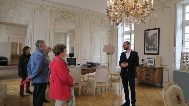 Journées du patrimoine : visitez le bureau du maire de bayeux