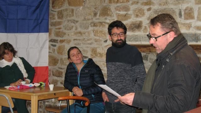 photo philippe jaouen et nicolas ulrich, lors de la présentation du défi « zéro déchet, zéro gaspi » © ouest-france