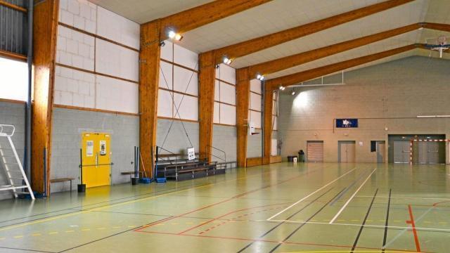 Le Gavre Changement D Eclairage A La Salle Des Sports Saint