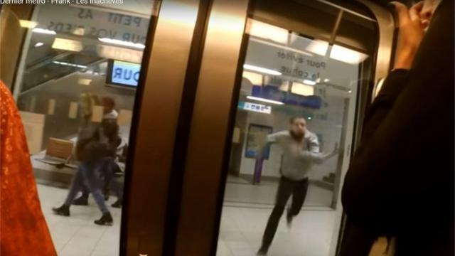 La vidéo-gag dans le métro de Rennes a mal tourné. Info - Saint ...