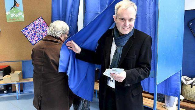 Primaires à gauche françois de rugy a voté ce midi à nantes