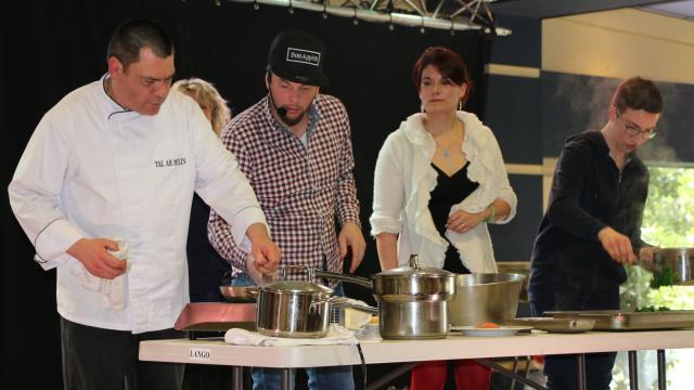 Morlaix Norbet Tarayre Livre Un Show Comico Culinaire Quimper
