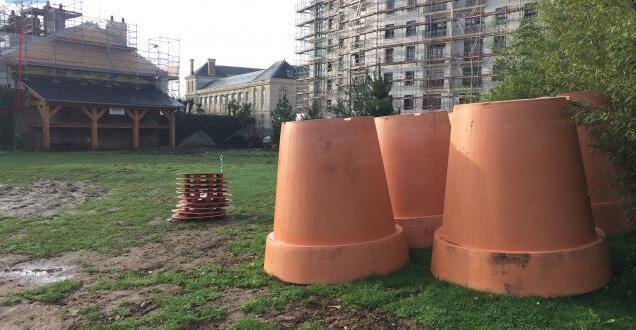 Nantes. Nouveauté : une aire de jeux de Claude Ponti au Jardin des ...