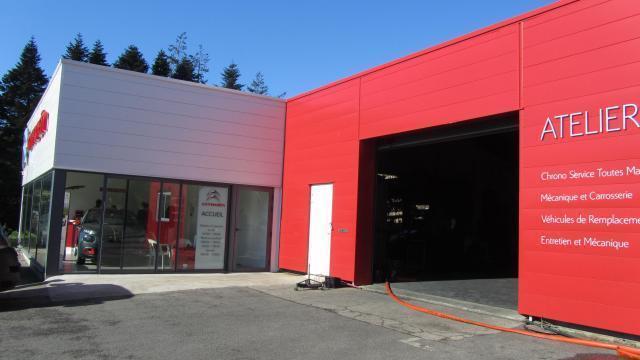 Rosporden Incendie Au Garage Citroen Brest Maville Com