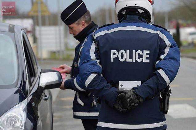 photo le jeune de 19 ans a refusé d'obtempérer aux policiers qui voulaient le contrôler. © archives le courrier de l'ouest - laurent combet