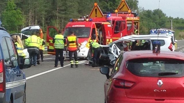 Choc frontal à Moutiers-les-Mauxfaits, trois blessés graves - Les ...