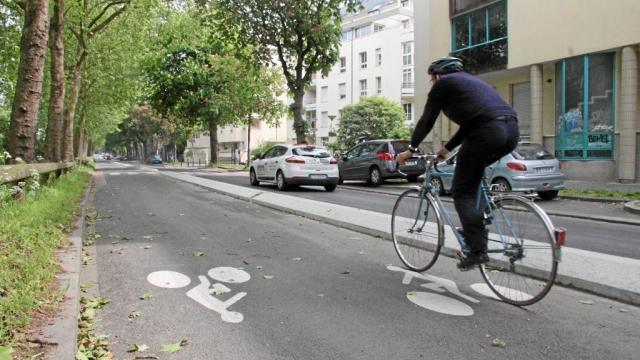 Rennes Les Pistes Cyclables Grignotent Le Bitume Rennes Maville Com