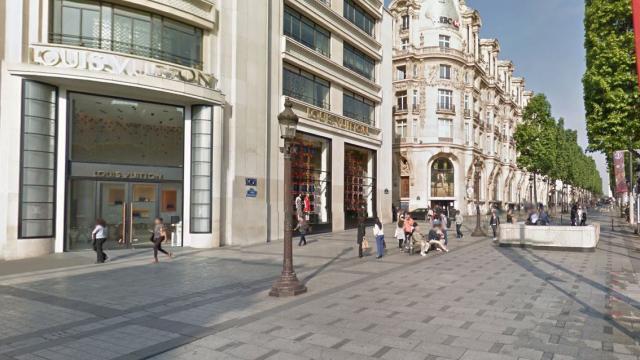 0026468d44579 Braquage à main armée dans la boutique Louis Vuitton des Champs-Elysées -  Paris.maville.com
