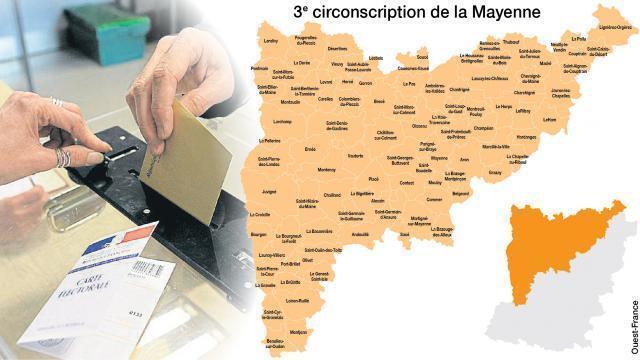 photo la troisième circonscription de la mayenne regroupe les 99 communes  des anciens cantons d  7f6206ba7e9f