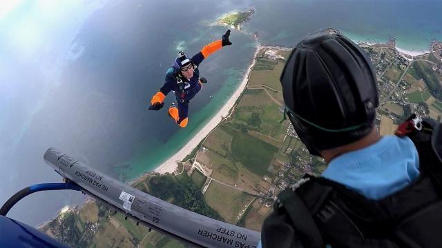 parachutisme brest