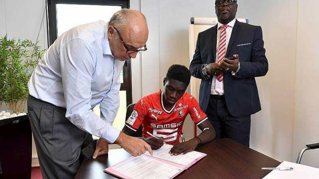 photo rené ruello s'est exprimé sur le mercato rennais. © photo : ouest-france / thomas brégardis