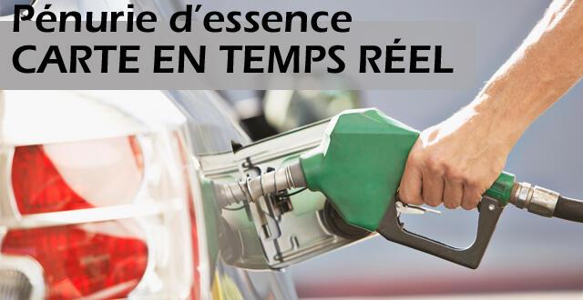 carte interactive station essence CARTE INTERACTIVE] Pénurie d'essence. Où trouver une station