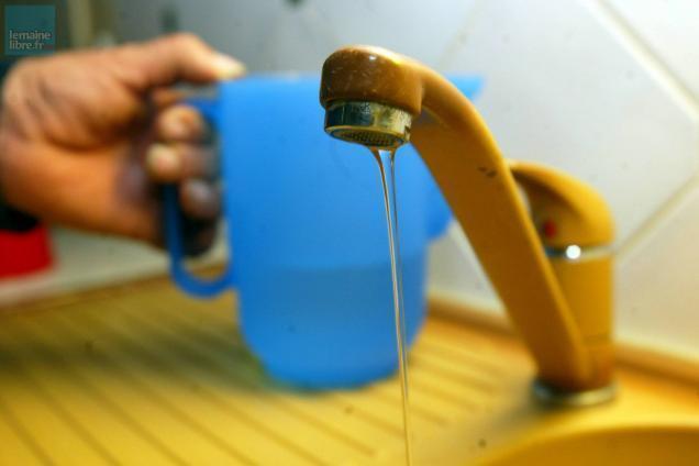 photo © l'eau du robinet reste parfaitement consommable selon l'ars. photo d'illustration archives ml - hervé petitbon