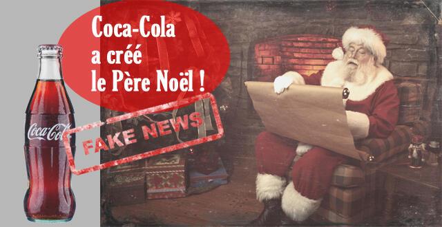 Qui A Inventé Le Pere Noel FAKE NEWS] « C'est Coca Cola qui a inventé le Père Noël
