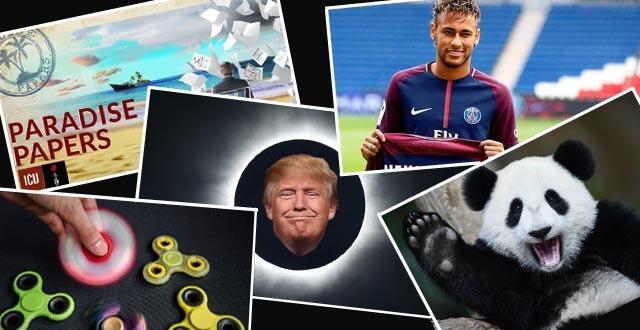 photo 5 choses qui ont marqué (les médias…) en 2017 !