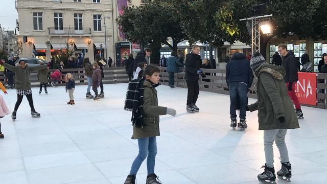 patinoire de noel 2018 caen Patinoire de Noël à Caen : encore un jour pour en profiter. Info  patinoire de noel 2018 caen