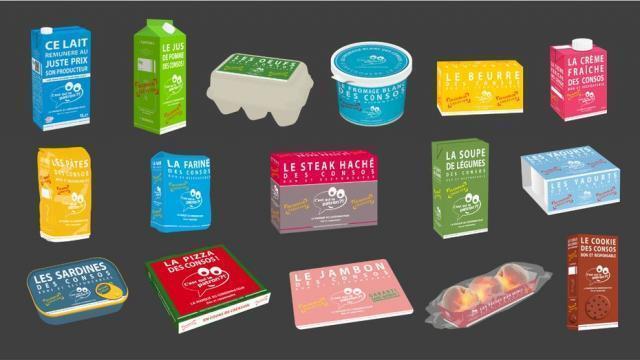 photo la plupart des enseignes de la distribution proposent désormais cette marque qui défend producteurs et consommateurs. © dr